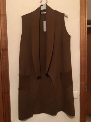 New brown vest
