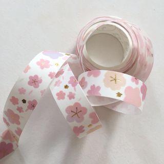 Sakura gold foil washi tape