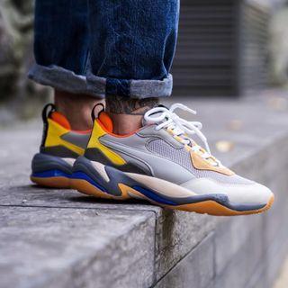Puma Thunders Drizzle Steel Grey Sneakers US Mens 8 9 10 11