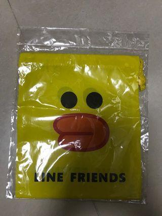 Line friends索繩袋