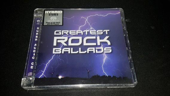 Greatest Rock Ballads SACD limited no.1