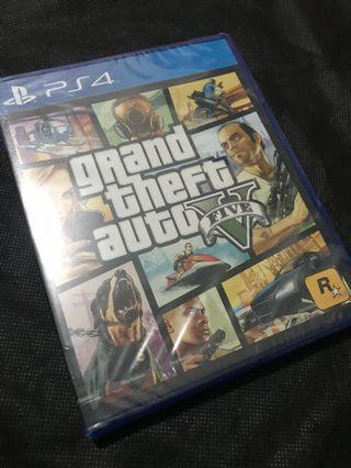 PS4 全新GTA V