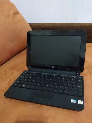 Komputer Laptop HP Hitam