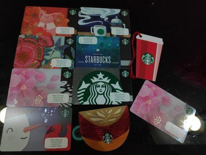 Starbucks Cards 2019