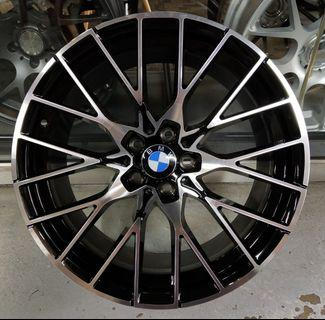 """19"""" New rim fitment for BMW G30 series"""