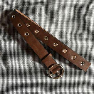 Belt Leather Coffee