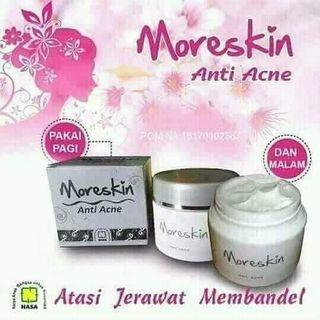 Moreskin anti acne krim obat jerawat