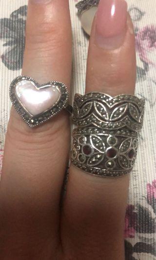 民族寶石戒指