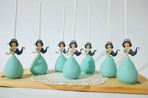 Princess Jasmine Cake Pop 👑