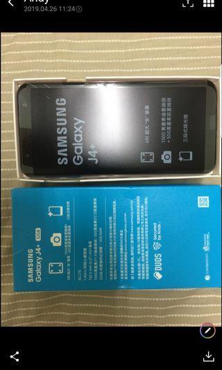 全新Samsung j4+ 手機 金色32G