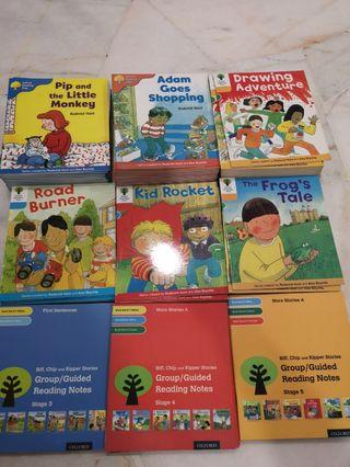 Oxford reading tree stage 3 to 5