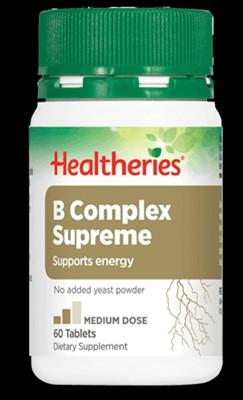 Healtheries B Complex Supreme Tablets (Vitmain B Complex) (60 tablets)