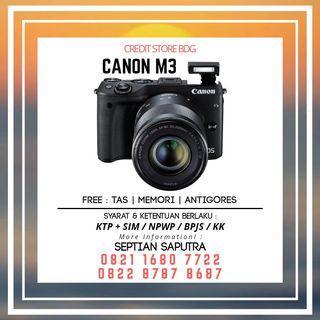 Kredit Kamera Mirorless Canon M3