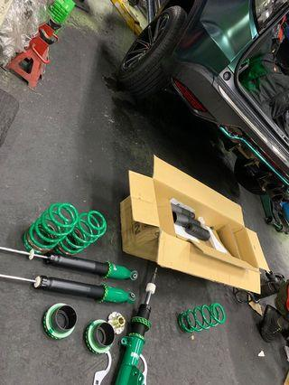 Tein Flex Z Honda Vezel Coilovers With Install N Align