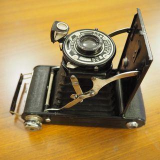 🚚 古董蛇腹相機 Coronet