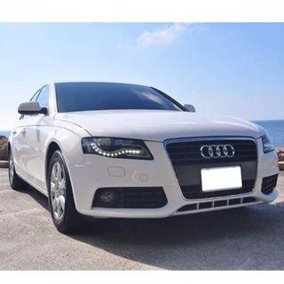 Audi A4 廠內同時有1.8T及2.0T