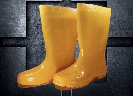 🚚 可愛黃色雨鞋