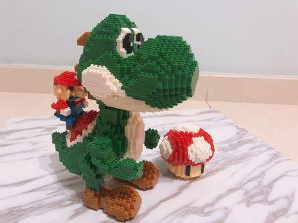 (試賣)Mini Lego 瑪利奧 Mario x Yoshi
