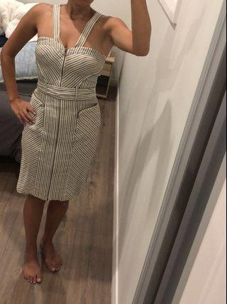 Dress fitted