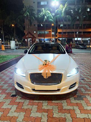 Wedding car Jaguar XJL (First Class)