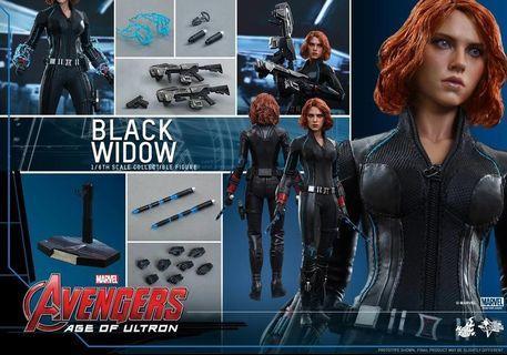 全新Hottoys Black Widow