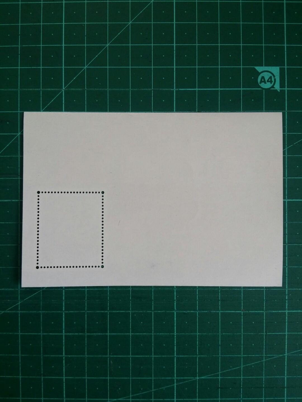 1993 香港'94郵展 小型張新票