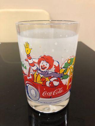 McDonald's x Coca Cola 玻璃水杯