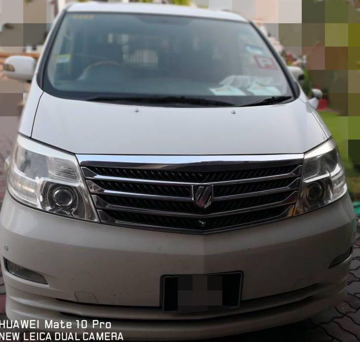 2006 TOYOTA ALPHARD 3.0 (A) - DIRECT OWNER (NEGOTIABLE)