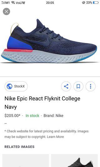 216d1b41057 nike epic react flyknit
