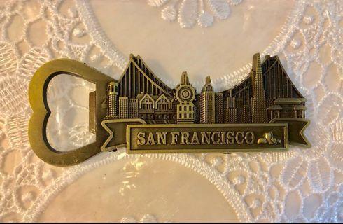 FRIDGE MAGNET SAN FRANCISCO