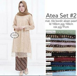 LACE PEARL BLOUSE LD 100
