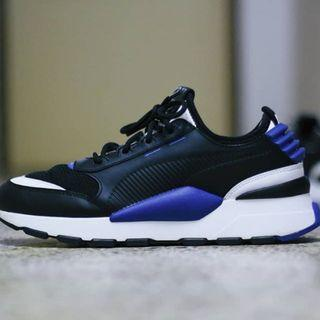 Puma RS-0 US Men's Sneakers Black and Blue US 9 10