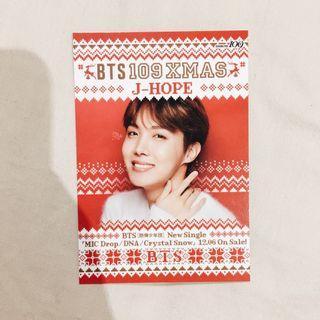 BTS Mic Drop / DNA / Crystal Snow Japanese Christmas Edition J-Hope