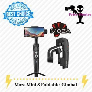 Moza Mini S Foldable Essential Kit 3 Axis Gimbal Stabilizer for Smartphone/Gopro Action Camera