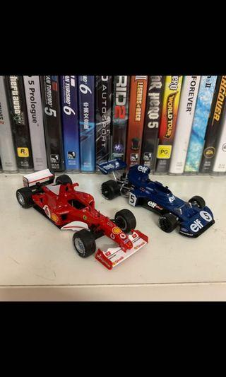Panini F1 Car Collection Lot 1