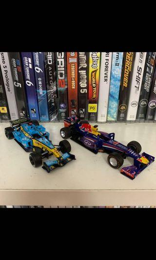 Panini F1 Car Collection Lot 2