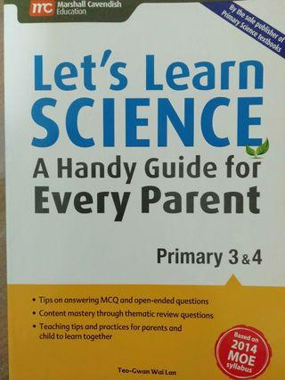 🚚 Marshall Cavendish  - Let's Learn Science : Primary 3 & 4