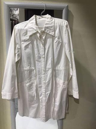 Baju hamil putih