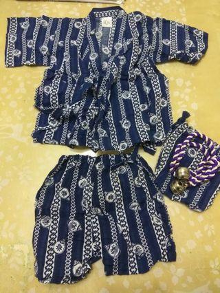 Japanese Yukata for Babies 正宗日本BB浴衣