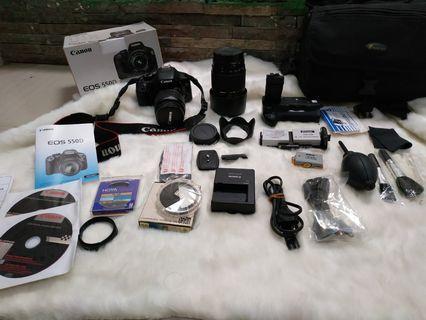 Kamera Canon EOS 550D