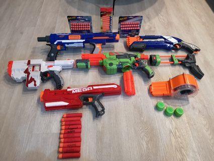 [ REDUCED PRICE ] Nerf Guns