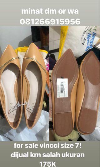 Flatshoes VNC (sepatu flatshoes) VINCCI