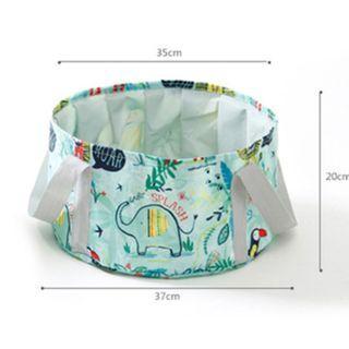 🚚 Big Folding Portable bucket 15L