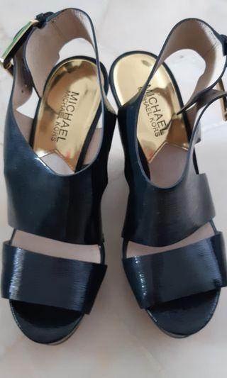 Michael Kors Dark Blue Heels