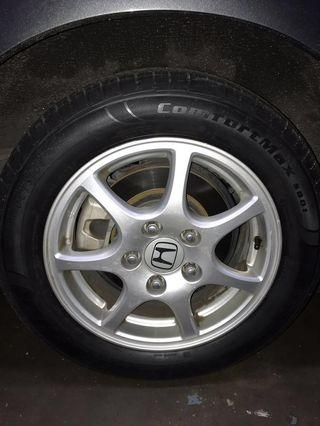 Honda Stream Rim with Tyre