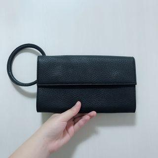 🚚 二手/ 黑色手拿包 #半價衣服拍賣會