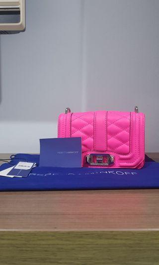 #mauTHR Rebecca Minkoff Mini Love Crossbody Bag in Electric Pink