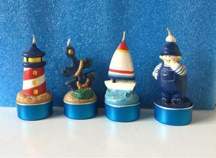海洋造型爉燭
