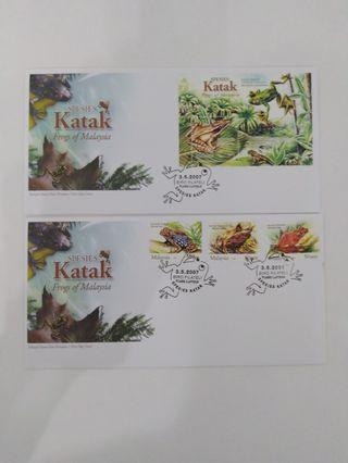 First Day Cover-2007/ Frog Of Malaysia