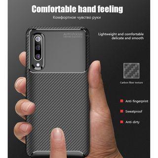 ORIGINAL Case Xiaomi Mi9 Softcase Shockproof Carbon